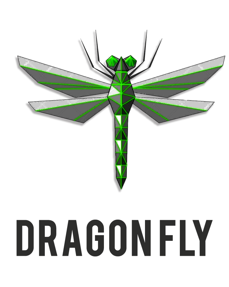 dragonfly logo - Red Dragonfly