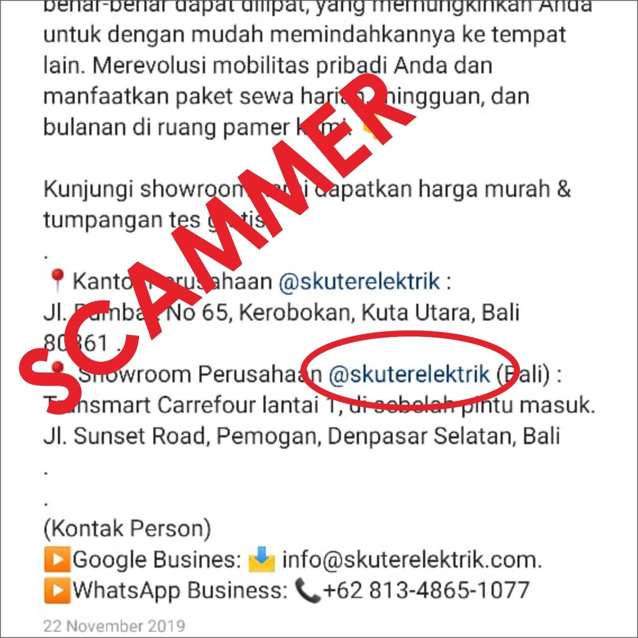 WhatsApp Image 2020 01 03 at 15.31.14 - Awas! Scammer Alert!